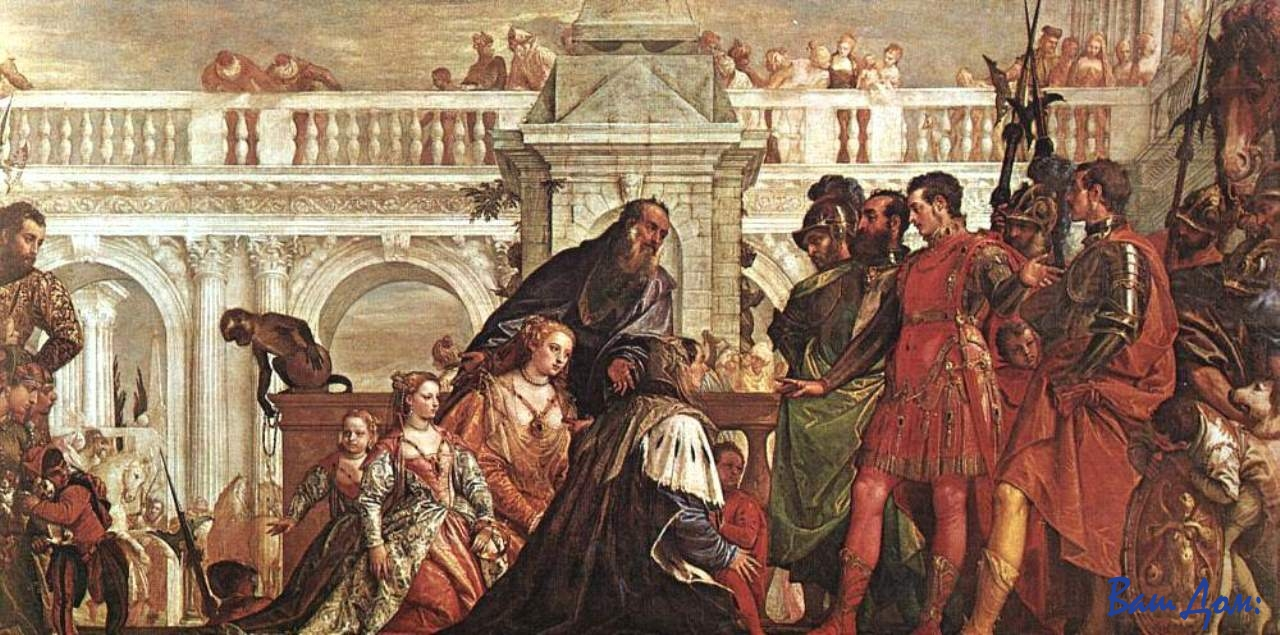 Veronese,_Paolo_-_The_Family_of_Darius_before_Alexander_-_1565-7