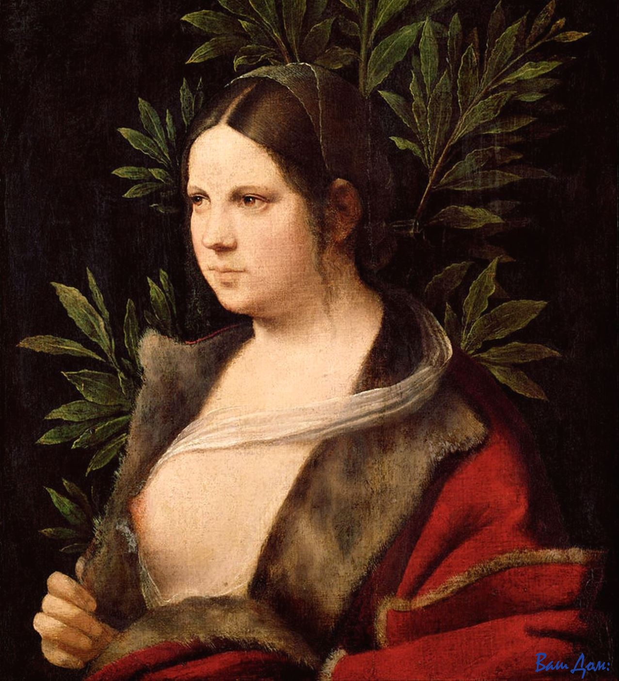 """Giorgione_-_Young_Woman_(""""Laura"""")_-_Google_Art_Project"""